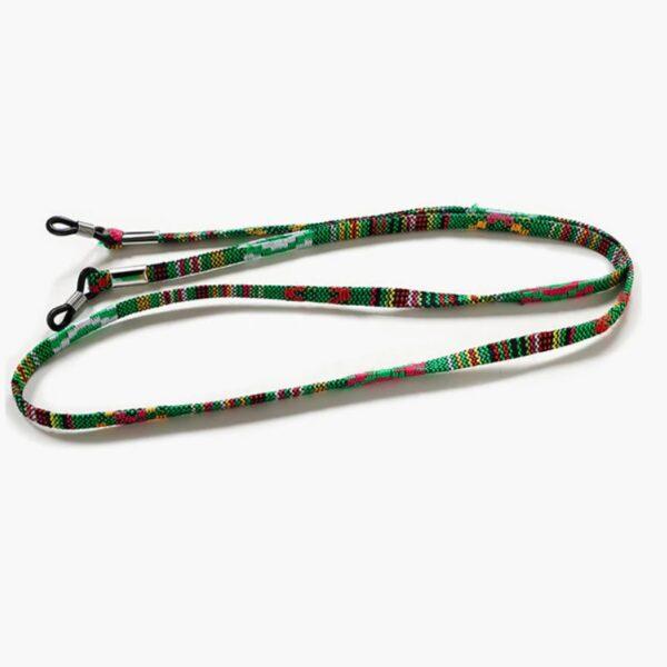 1113 - Brillenkoord - Zonnebril Koord - GROEN! - Eyezoo® Happy Cords