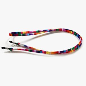 1011 - Brillenkoord - Zonnebril Koord - REGENBOOG! - Eyezoo® Happy Cords