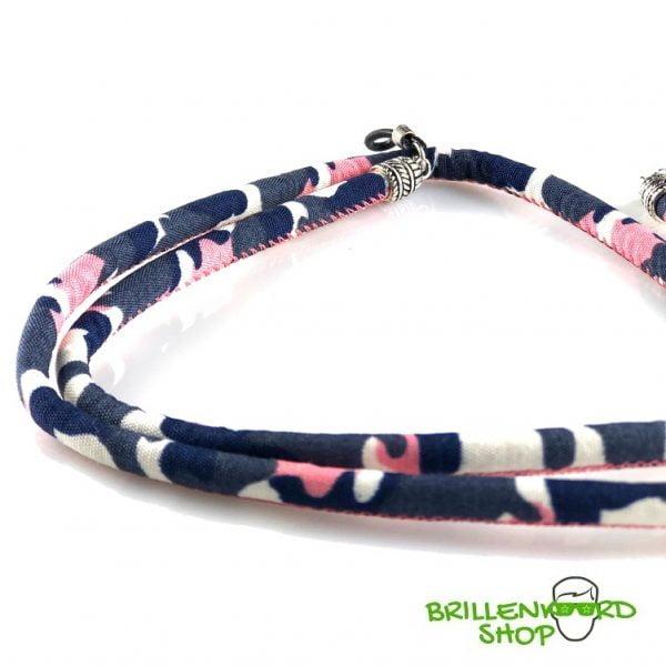 1134-Brillenkoord - Zonnebril Koord - Zonnebril Touwtjes - rond - softwear - Roze Camo-2