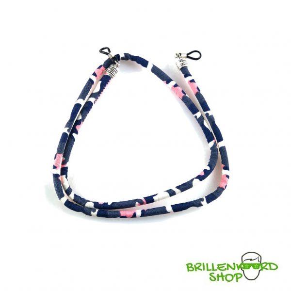 1134-Brillenkoord - Zonnebril Koord - Zonnebril Touwtjes - rond - softwear - Roze Camo