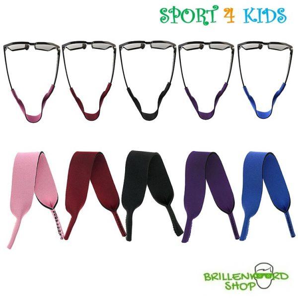 1214 set - brillenkoord-kinderen-neopreen-sport