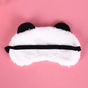 1243 slaapmasker kinderen pluche panda - 1
