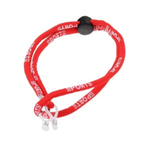 1245 sport brillenkoord - verstelbaar - rood