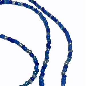 1264 mondkapjes koord bohemian blauwe kralen 2
