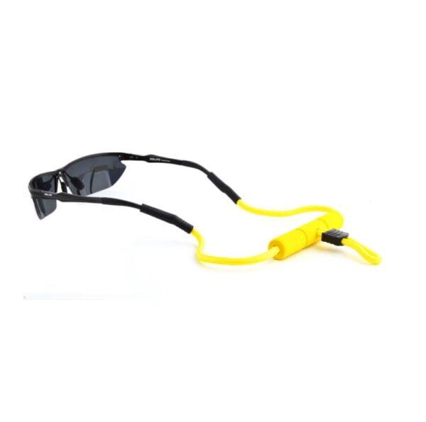 1267 - drijvend brillenkoord - watersport - Eyezoo - The Float - geel - 2
