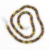 21273 - brillenketting XL - Schildpad met zwart - XL Chain