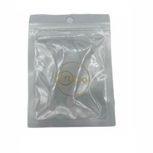 31247 - brillenpootje verdikker met oorhaakje - wit verpakt