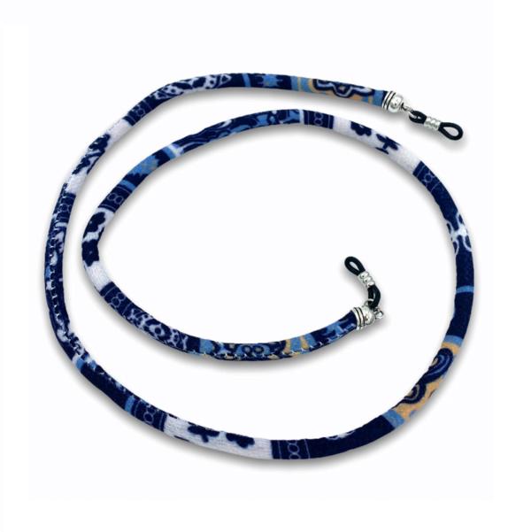 1284 brillenkoord bohemian softwear blauw