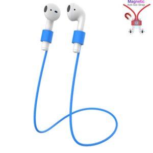 31329 airpods koord - anti verlies - draadloze oordopjes - blauw